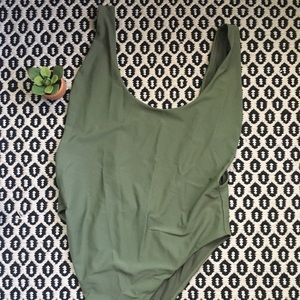 NWOT Aerie Green One Piece Sz XL